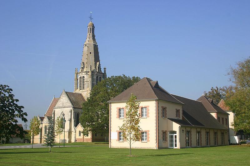 Photo du Monument Historique Eglise Saint-Crépin et Saint-Crépinien situé à Saint-Crépin-Ibouvillers