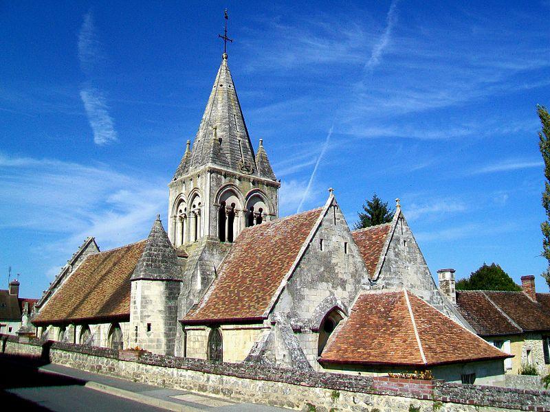 Photo du Monument Historique Eglise situé à Saintines