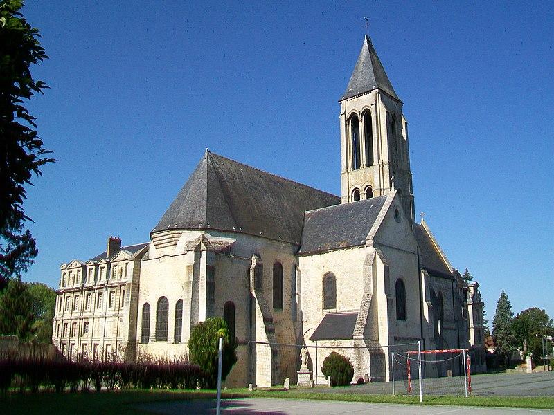 Photo du Monument Historique Ancienne abbaye Saint-Vincent situé à Senlis