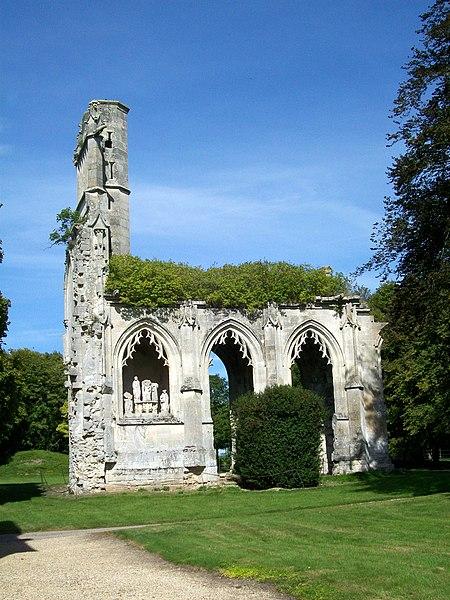 Photo du Monument Historique Abbaye de la Victoire situé à Senlis