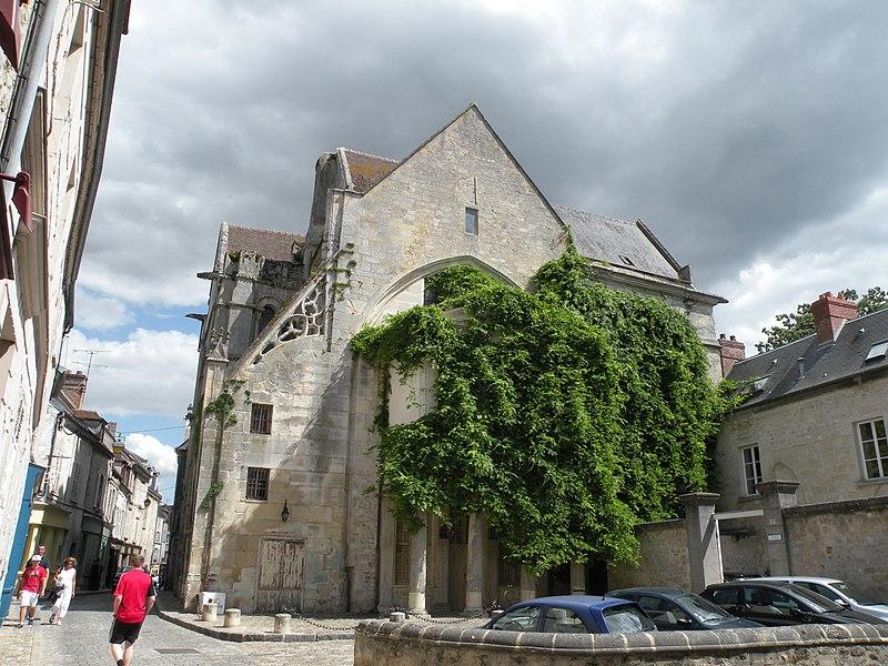 Photo du Monument Historique Eglise Saint-Aignan situé à Senlis