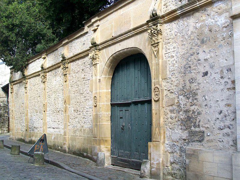 Photo du Monument Historique Hôtel de Rasse situé à Senlis