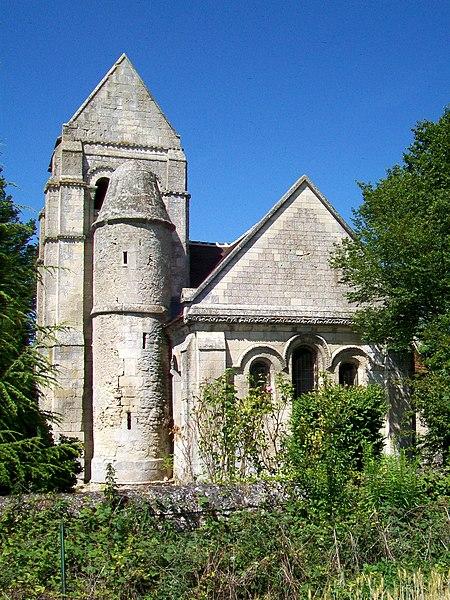 Photo du Monument Historique Ancienne église de Noël-Saint-Martin situé à Villeneuve-sur-Verberie