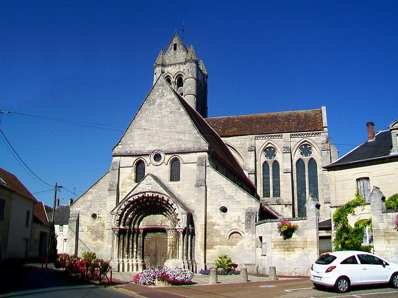 Photo du Monument Historique Eglise Saint-Pierre et Saint-Paul situé à Villers-Saint-Paul