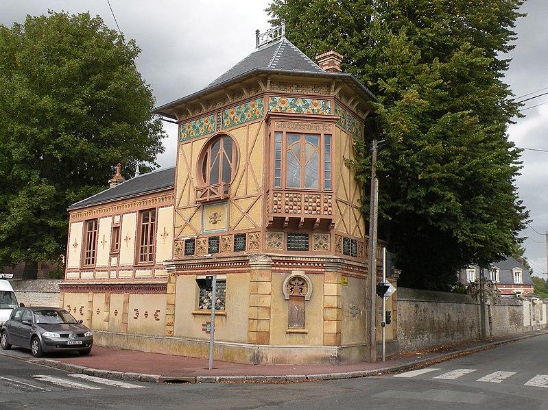 Photo du Monument Historique Maison Bordez-Greber situé à Mouy