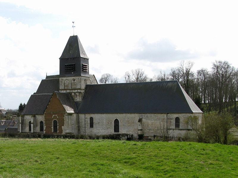 Photo du Monument Historique Eglise Saint-Nicolas situé à Bonneuil-les-Eaux