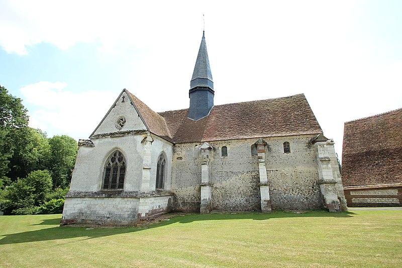 Photo du Monument Historique Eglise Saint-Aubin situé à Guignecourt