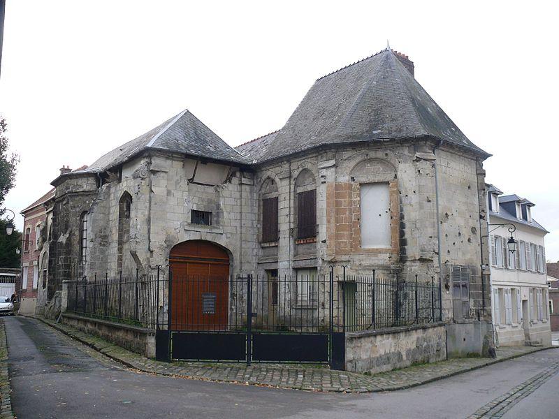 Photo du Monument Historique Eglise de la Madeleine situé à Noyon