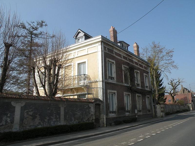Photo du Monument Historique Atelier et jardin de Pissarro situé à Eragny-sur-Epte
