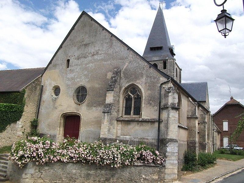 Photo du Monument Historique Eglise Saint-Germain situé à Boury-en-Vexin