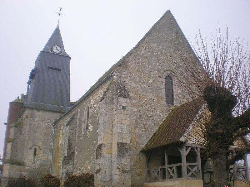 Photo du Monument Historique Eglise Saint-Lucien situé à Litz
