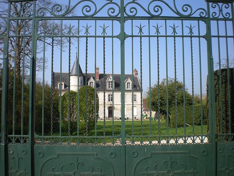 Photo du Monument Historique Château des Etournelles situé à Breuil-le-Sec