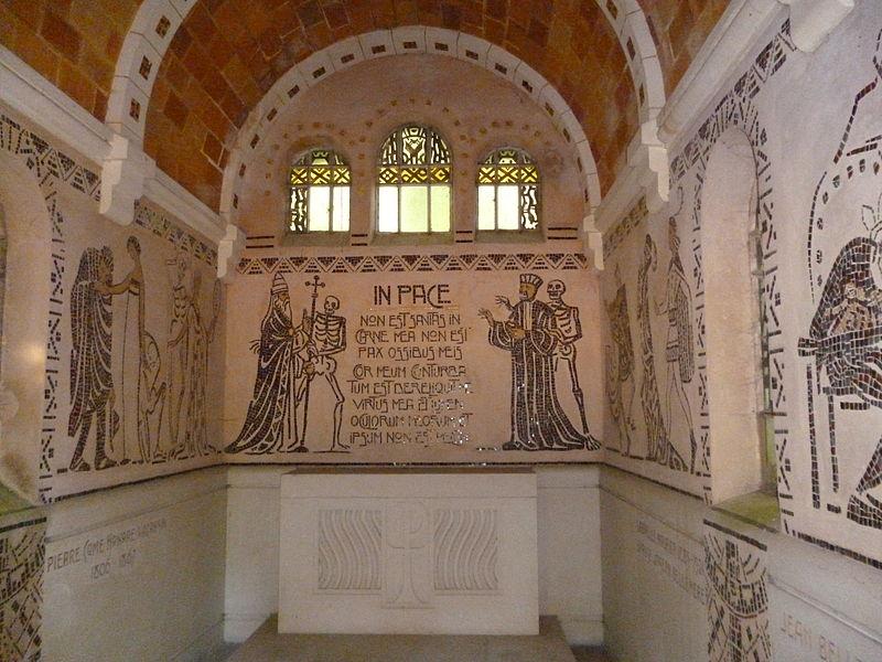 Photo du Monument Historique Chapelle funéraire de la famille Joseph Bellemère situé à Chepoix