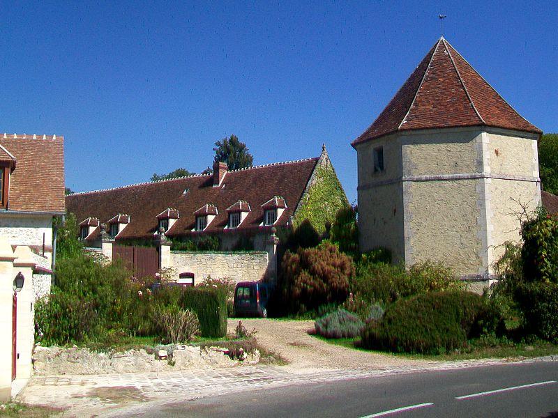 Photo du Monument Historique Ferme du Boulanc dite Manoir du Boulanc situé à Verderonne