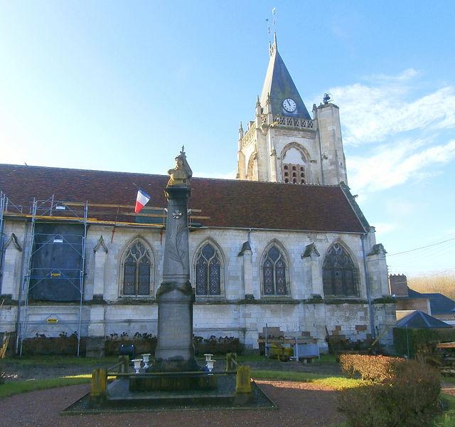 Photo du Monument Historique Eglise Saint-Martin situé à Bulles