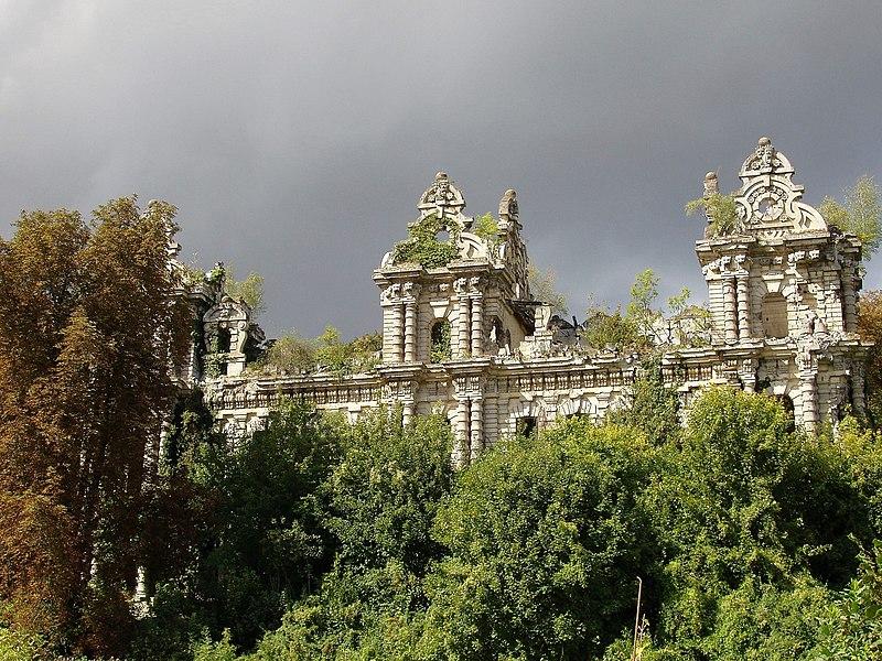 Photo du Monument Historique Château Mennechet situé à Chiry-Ourscamp