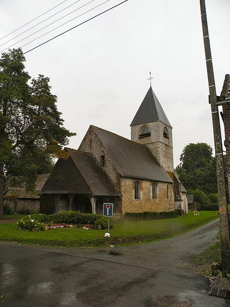 Photo du Monument Historique Eglise Notre-Dame situé à Lachapelle-sous-Gerberoy