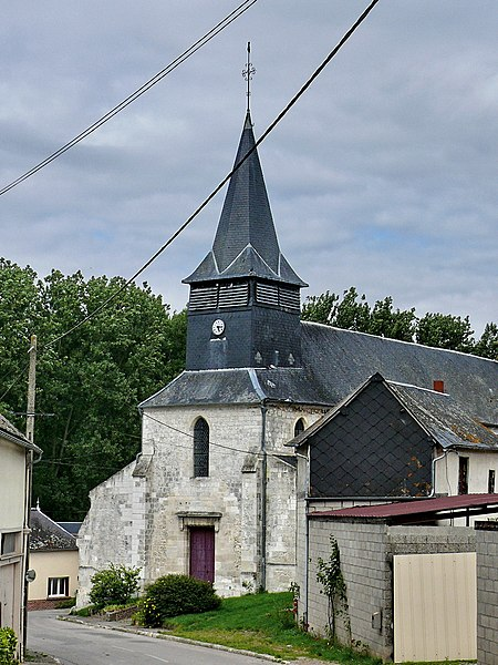 Photo du Monument Historique Eglise Saint-Denis situé à Catheux
