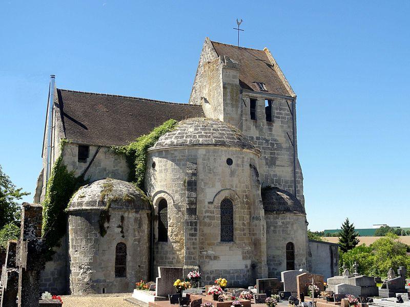 Photo du Monument Historique Eglise Saint-Pierre situé à Vaumoise