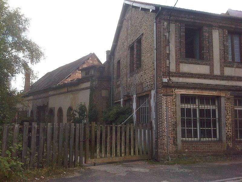 Photo du Monument Historique Usine d'aiguilles de Mérouvel situé à L'Aigle