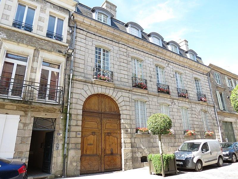 Photo du Monument Historique Hôtel Radigue situé à Alençon