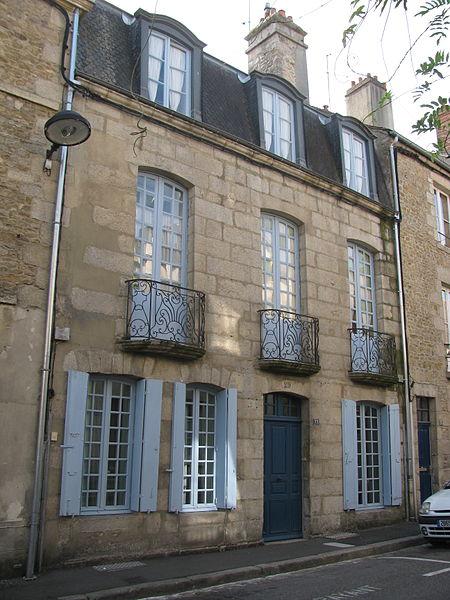 Photo du Monument Historique Immeuble situé à Alençon