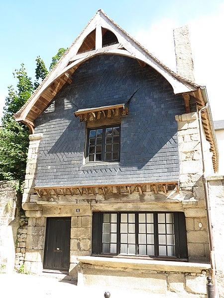 Photo du Monument Historique Maison dite à l'Etal situé à Alençon