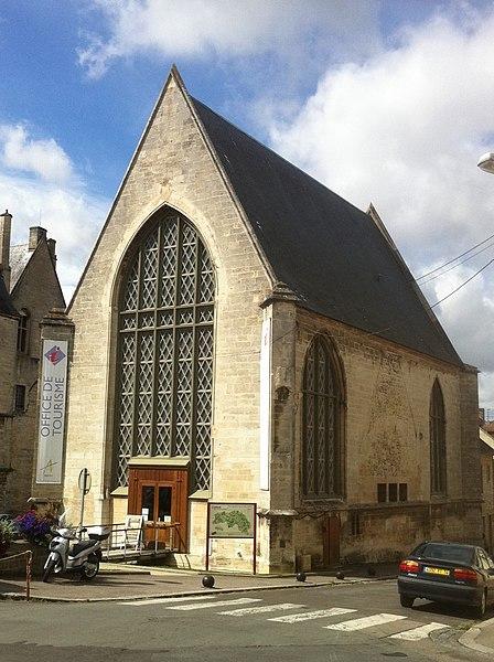 Photo du Monument Historique Ancienne chapelle du château, ou chapelle Saint-Nicolas situé à Argentan