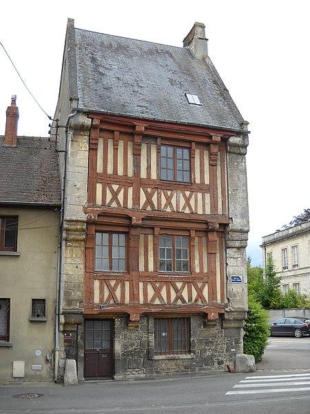 Photo du Monument Historique Maison normande situé à Argentan