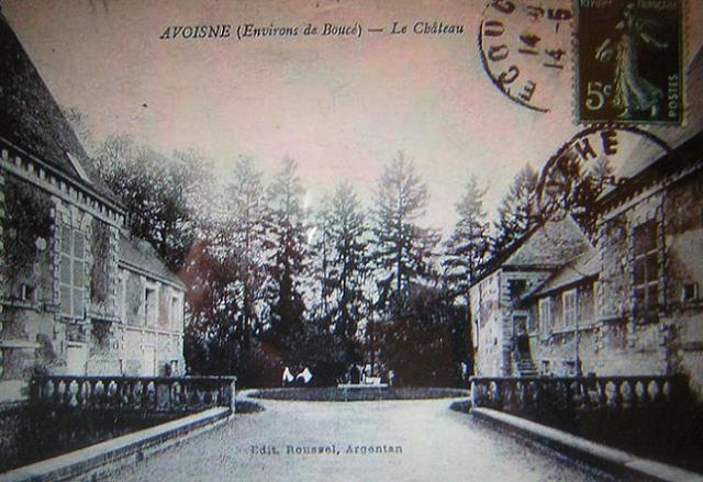 Photo du Monument Historique Château d'Avoines ou Avoine situé à Avoine