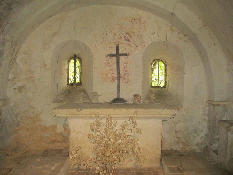 Photo du Monument Historique Chapelle Notre-Dame-du-Vieux-Château, dite chapelle Saint-Santin situé à Bellême
