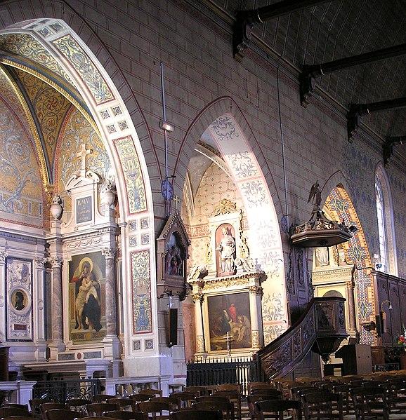 Photo du Monument Historique Eglise Saint-Sauveur situé à Bellême