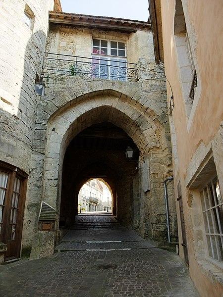 Photo du Monument Historique Ville Close situé à Bellême