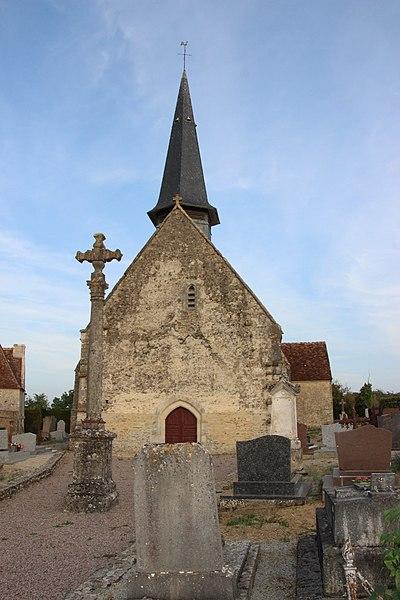 Photo du Monument Historique Eglise situé à Boissei-la-Lande