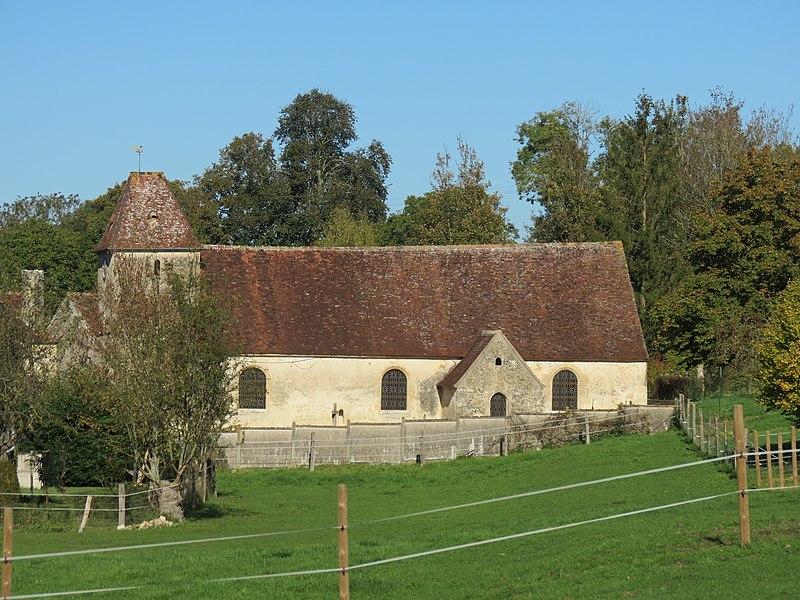 Photo du Monument Historique Eglise de Fougy situé à Le Bourg-Saint-Léonard