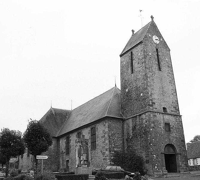 Photo du Monument Historique Eglise situé à Champsecret
