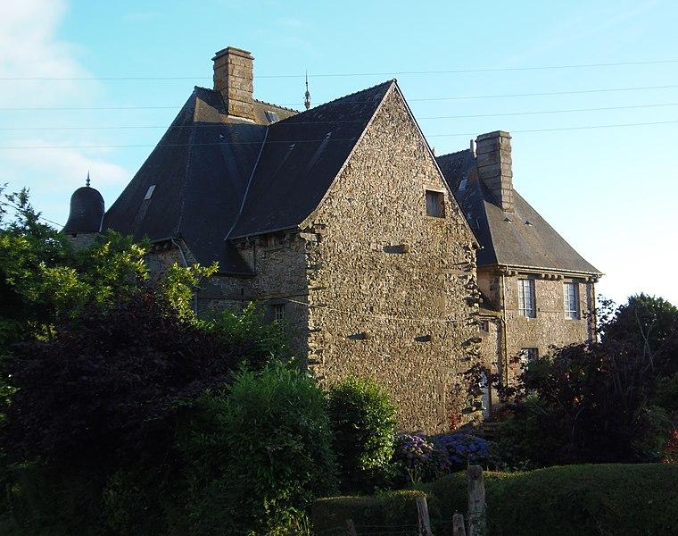 Photo du Monument Historique Vieux manoir situé à Champsecret