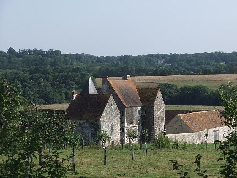 Photo du Monument Historique Logis de la Queurie situé à La Courbe