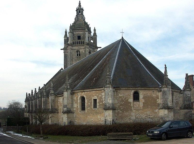 Photo du Monument Historique Eglise Notre-Dame situé à Courgeon