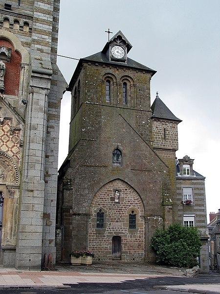 Photo du Monument Historique Eglise Notre-Dame de l'Assomption situé à La Ferté-Macé