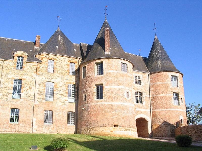 Photo du Monument Historique Château situé à Gacé