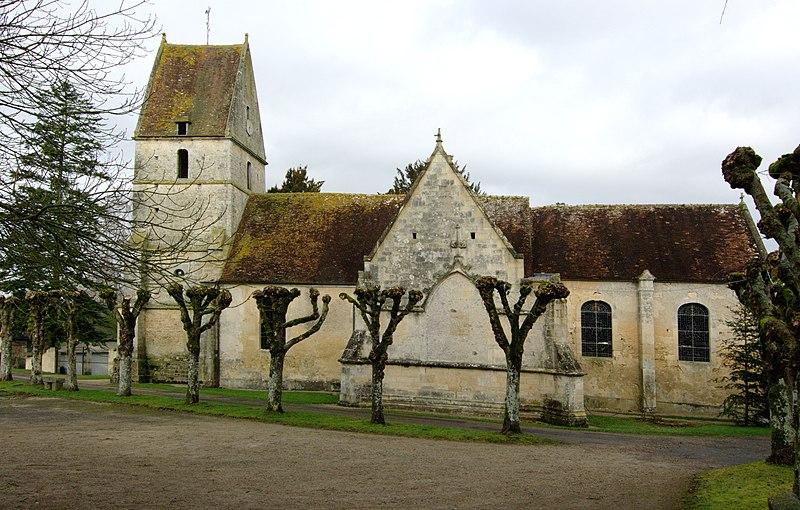 Photo du Monument Historique Eglise situé à Habloville