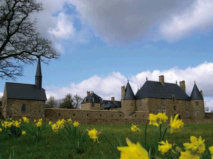 Photo du Monument Historique Ancien manoir de la Chaslerie situé à Haute-Chapelle (La)