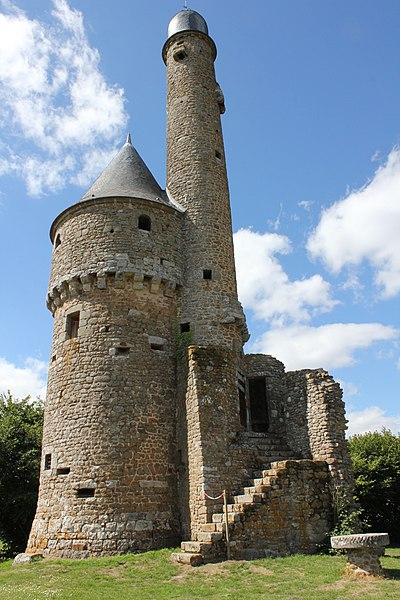 Photo du Monument Historique Ancien château de Bonvouloir situé à Juvigny-sous-Andaine