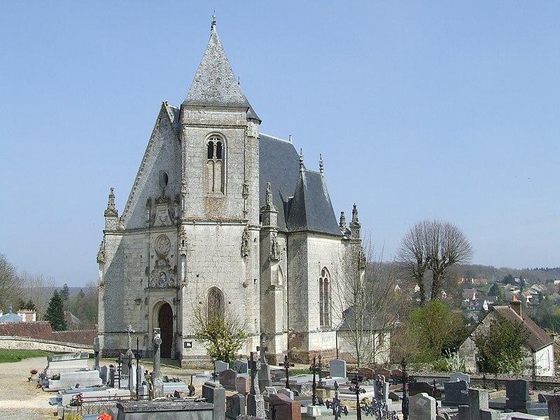 Photo du Monument Historique Chapelle Notre-Dame-de-Pitié situé à Longny-au-Perche