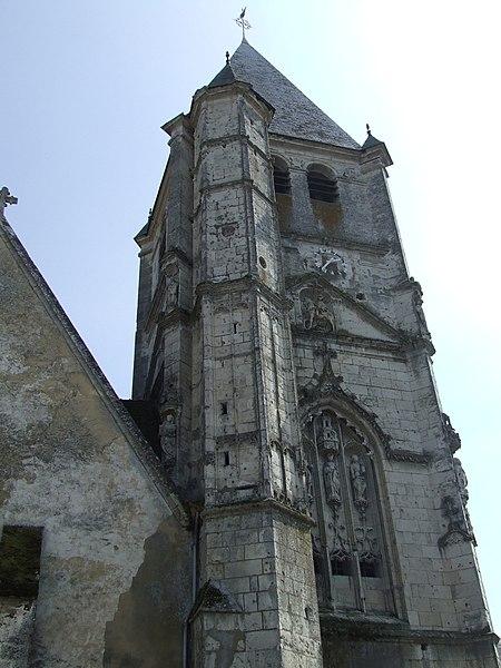 Photo du Monument Historique Eglise Saint-Martin situé à Longny-au-Perche