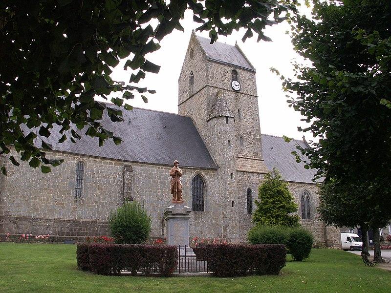 Photo du Monument Historique Eglise Notre-Dame situé à Magny-le-Désert