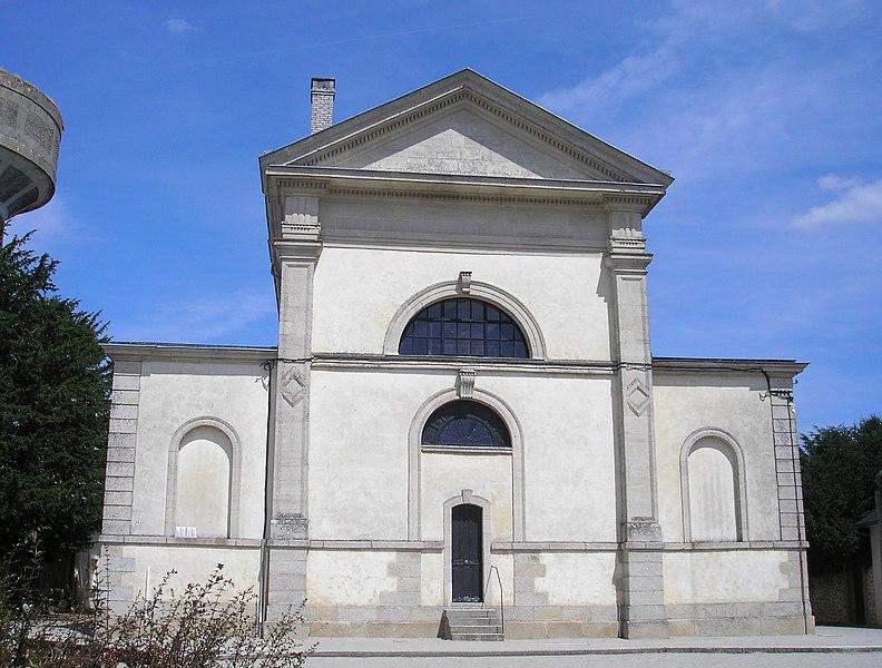 Photo du Monument Historique Eglise situé à Mêle-sur-Sarthe (Le)