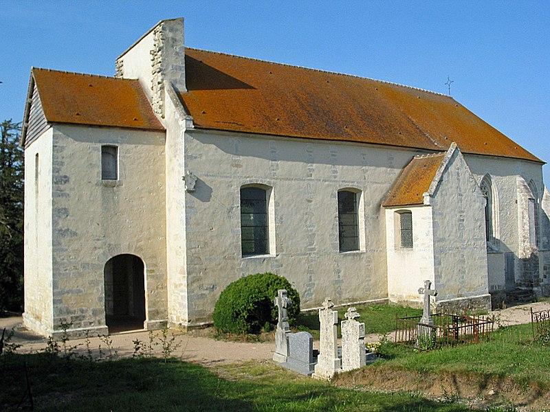 Photo du Monument Historique Eglise de Vaux-le-Bardoult situé à Montgaroult