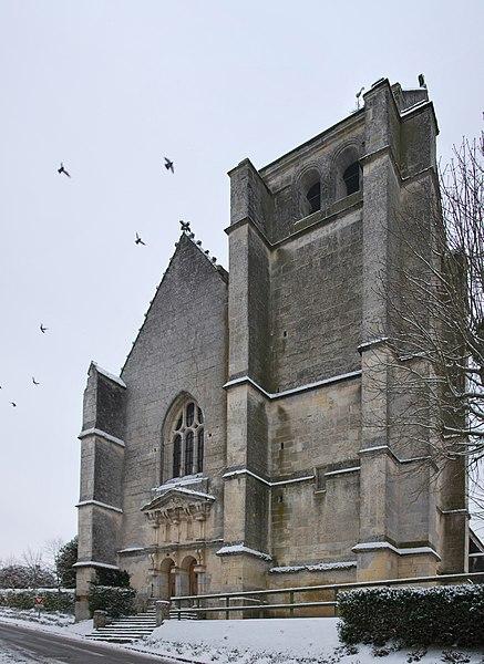 Photo du Monument Historique Eglise Saint-Germain-de-Loisé situé à Mortagne-au-Perche